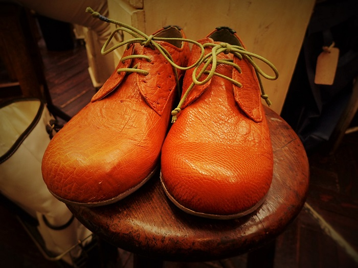 Ostrich Shoes completed