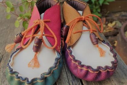My niece shoes made by Gyoji