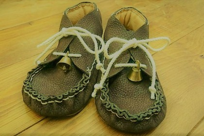 Baby shoes made by Yui