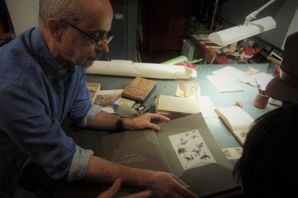 Italian parchment studio