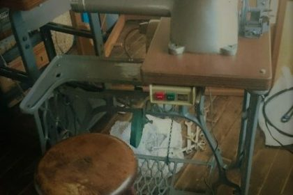 Foot sewing machine
