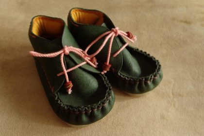 Baby shoes of different size