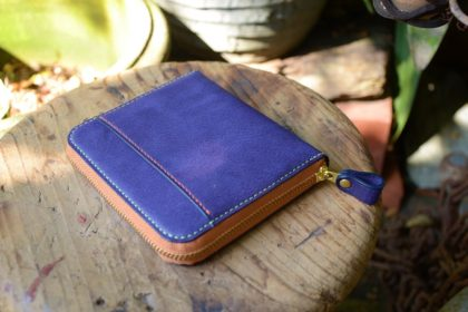 Purple zipper purse (4)